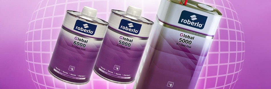 Global: new line of Roberlo clear coats