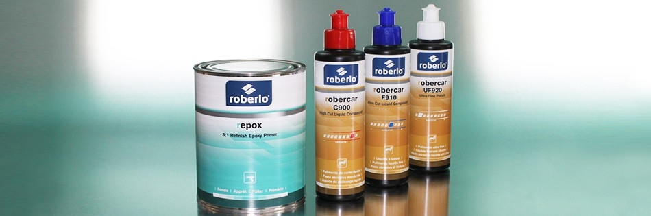 The latest products to join our car refinishing line