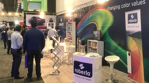 Expo Stands Mexico : Roberlo to exhibit at expo cesvi in mexico city