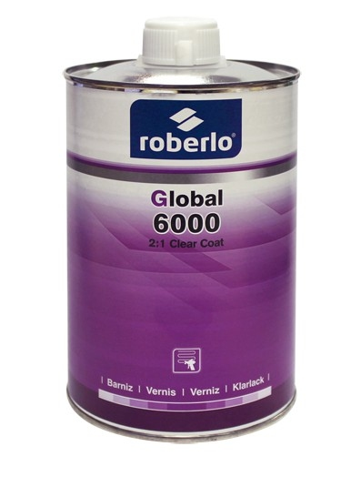 2:1 easy application clear coat Global 6000 - Roberlo